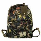 Valentino Camo Butterfly Backpack Bag - Multicolor