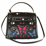 Valentino My Rockstud Butterfly Bag - Black