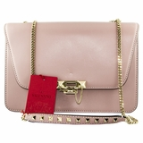Valentino Demilune Chain Shoulder Bag - Pink