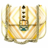 Valentino Glam Lock Native Couture 1975 Shoulder Bag - Multicolor