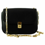 Valentino All Over Chain Shoulder Bag - Black