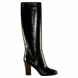 Valentino Garavani Leather Boot - Black