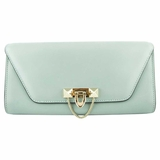 Valentino Demilune Clutch - Light Blue