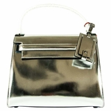 Valentino My Rockstud Single Top Handle Handbag - Silver