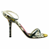 Valentino Leather High Heels Sandal - Multicolor