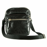 Valentino Crossbody Travel Bag - Black
