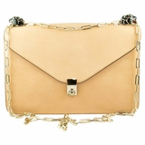Valentino All Over Chain Shoulder Bag - Beige