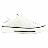 Valentino Flower Canvas Sneakers MW2S0019 White