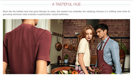 About Marsala, Pantone's Color of the Year 2015