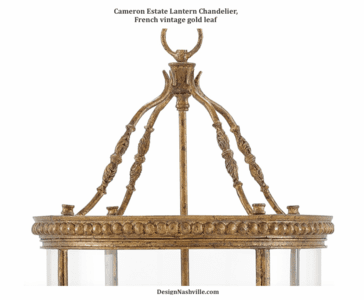 Additional photo Cameron Estate Lantern Chandelier