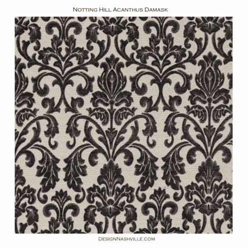 Additional photo Notting Hill Acanthus Damask Fabric