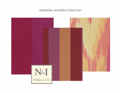 Adelaide Australia Bedding and Drapery Collection