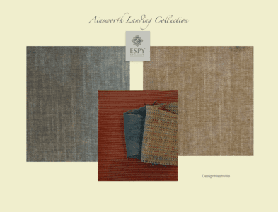 Ainsworth Landing Bedding and Drapery Collection, several variations