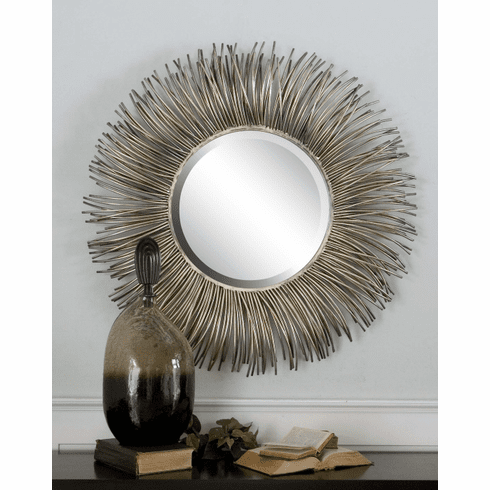 Akisha Metal Sunburst Mirror