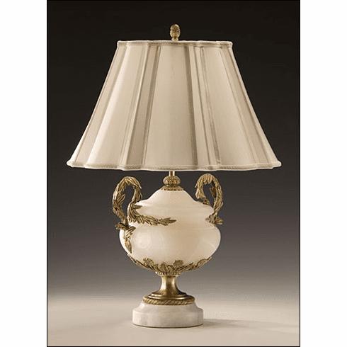Alabaster Gracious Living Lamp