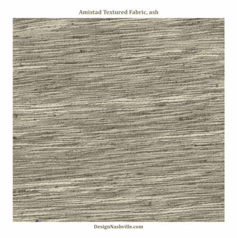 Amistad Textured Fabric, ash