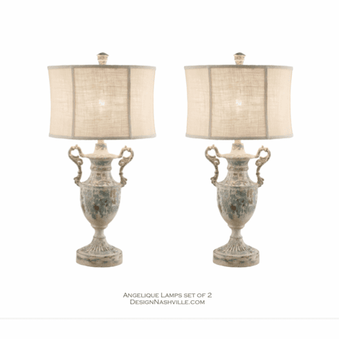 Angelique Table Lamps set of 2