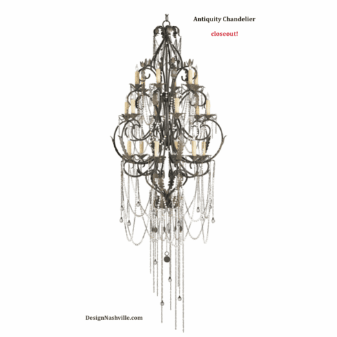 Antiquity Chandelier, Large