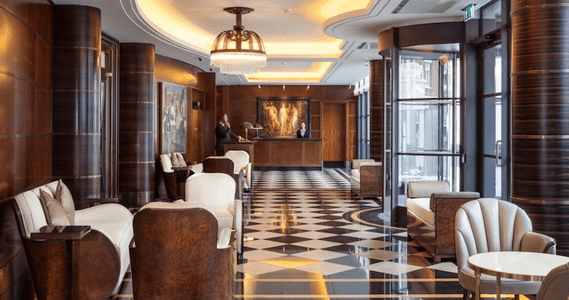 Art Deco/ Luxury Modern Beaumont Hotel, London