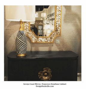 Artistic, glamorous home accents