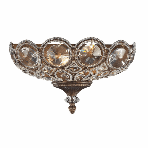 Astor Place Crystal Light Sconce II