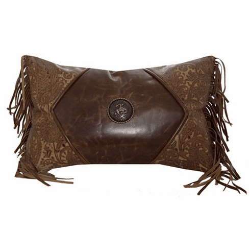 B. Cassidy Leather Pillow