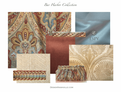 Bar Harbor Bedding and Drapery Collection