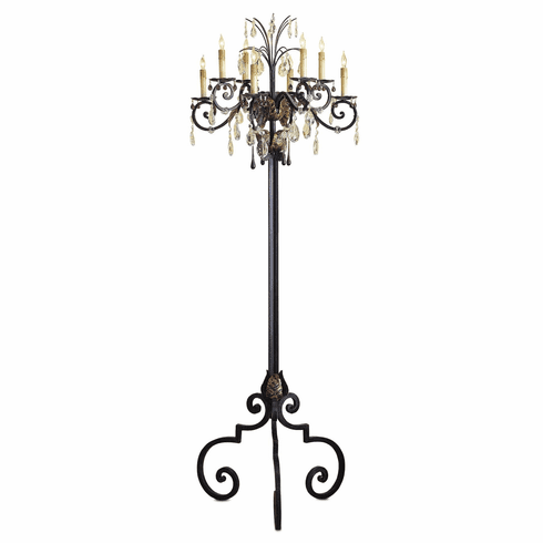 Beaumont Chandelier Floor Lamp