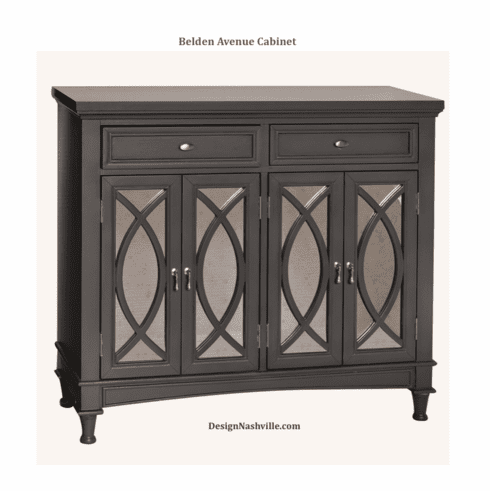 Belden Avenue 2 Drawer 4 Door Mirrored Sideboard