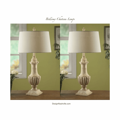 Bellamy Chateau Lamps set of 2