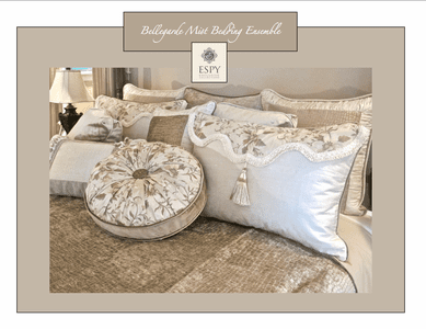 Bellegarde Mist Opulent Bedding Ensemble