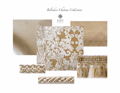 Belvedere Chateau Bedding and Drapery Collection