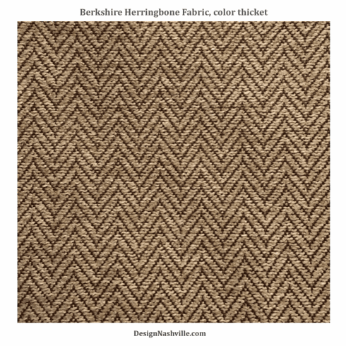 Berkshire Herringbone Fabric, color thicket
