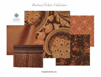 Bertrand Estate Bedding and Drapery Collection