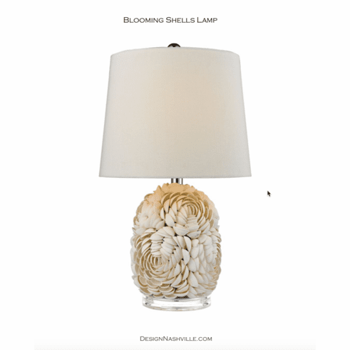 Blooming Shells Table Lamp