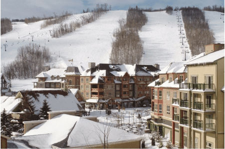 Blue Mountain Resort, design inspiration