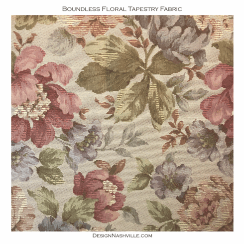 Boundless Floral Tapestry Fabric