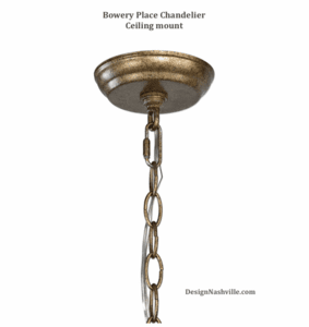 Bowery Place Chandelier Ceiling Mount