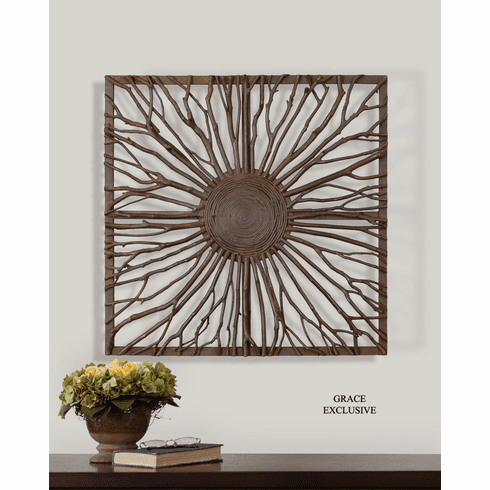 Branches of the Earth Square Wall Decor