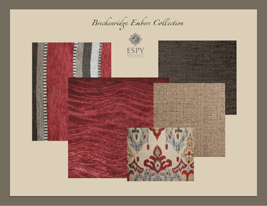 Breckenridge Embers Bedding and Drapery Collection