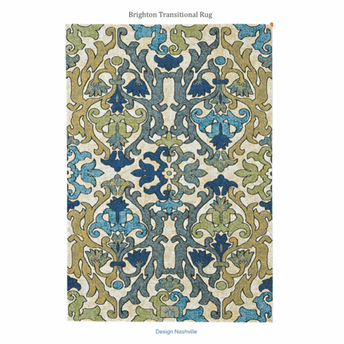 Brighton Transitional Rug