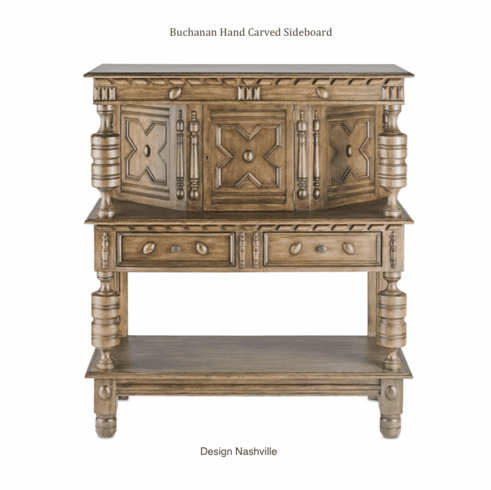 Buchanan Hand Carved Sideboard