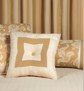 Butter and Cream Delight Accent Pillow Set of 3