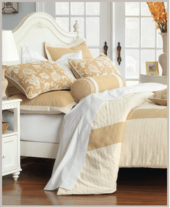 Butter and Cream Delight bedding and fabrics