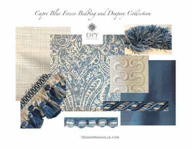 Capri Fresco Bedding and Drapery Collection
