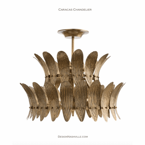 Caracas Stacked Drum Chandelier