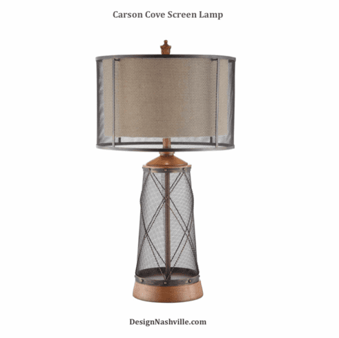 Carson Cove Screen Lamp