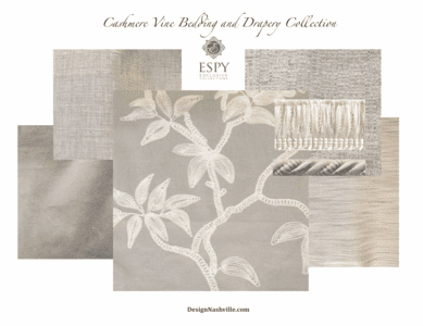 Cashmere Vine Bedding and Drapery Collection