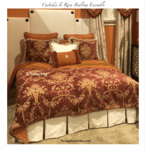 Castella di Rosa Drapery and Bedding Collection