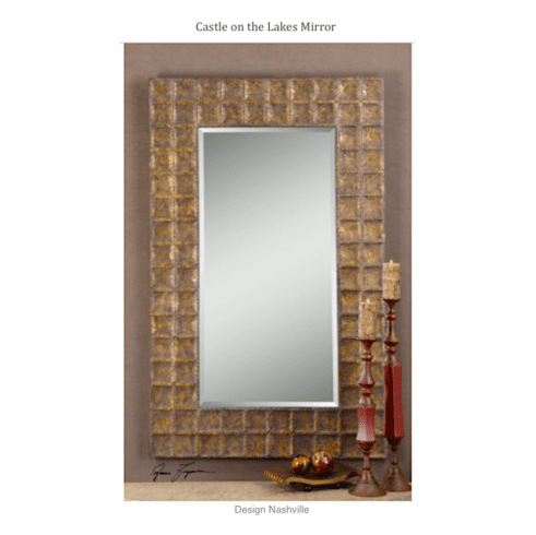 Castle on the Lakes mirror 67""